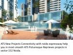3BHK 4BHK ATS Picturesque Reprieves Noida Sector 152 Expressway Resale Projects