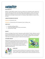 Best IT Services - Webstep Technologies