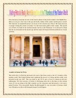 New 7 wonders of the petra is it worth the trip