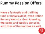 Rummy Passion Offers