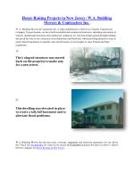 House Raising Projects in New Jersey: W.A. Building Movers & Contractors Inc.