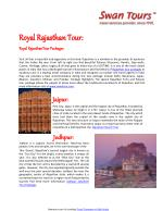 Royal RajasthanTour Packages