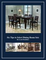 Six Tips to Select Dining Room Sets