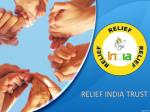 relief india trust an eduactional ngo