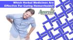 Which Herbal Medicines Are Effective For Curing Hemorrhoids?