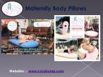 Maternity Pillows - Best Sleeping Position During Pregnancy