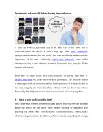 Questions to ask yourself Before Buying Skimpy underwear