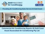 Commercial Air Conditioning Repairs At Gold Coast