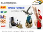 Dhl courier service : courier to canada, courier to usa, Delhi
