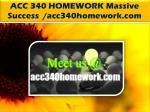 ACC 340 HOMEWORK Massive Success /acc340homework.com