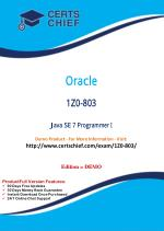 1Z0-803 Exam Certification Test