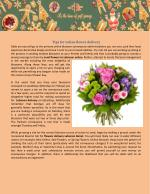 Tips for online flower delivery