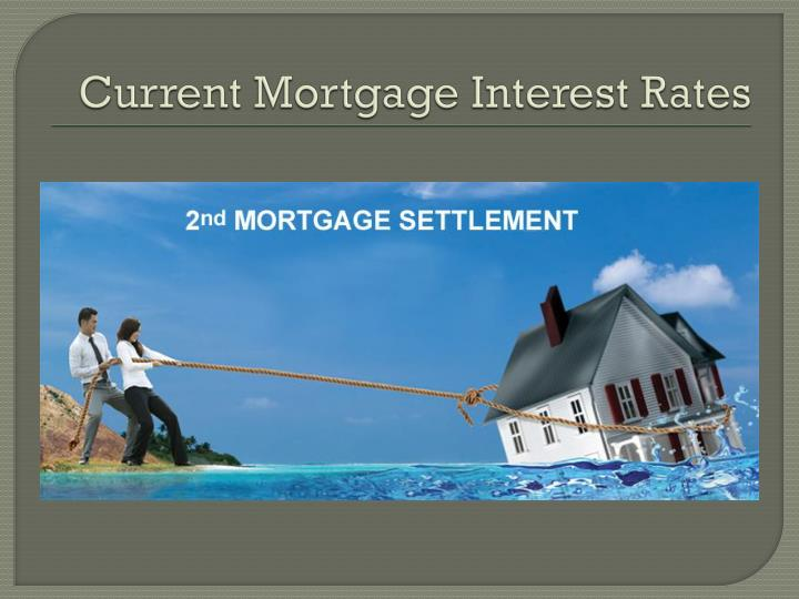 current mortgage interest rates n.