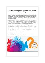 Why is Inkwell best Solution for Office Technology?