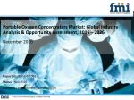 Portable Oxygen Concentrators Market Projected to Be Valued at US$ 2637.7 Mn by 2026 End