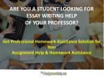 Instant Essay Writing Help Online