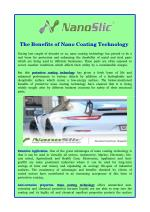 The Benefits of Nano Coating Technology