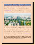 Wonderful smart cities flat for enjoy your valuable life