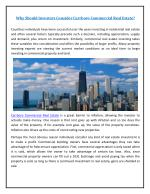 King Commercial real estate