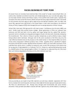 facelifting surgery by tony poer