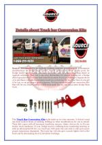 Details about Track bar Conversion Kits