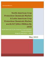 North American Crop Protection Chemicals Market & Latin American Crop Protection Chemicals Market worth $27,806.4 Millio