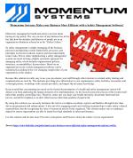 Momentum Systems: Make your Business More Efficient with a Safety Management Software!