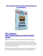 WP Lockdown Review and Premium $14,700 Bonus
