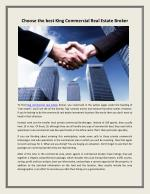 Holly Springs Commercial Real Estate