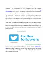 Prefer the right platform and purchase the number of twitter followers you want