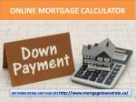 Canadian Mortgage Rates
