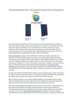 olar System Brisbane Facts - The Important Components for Purchasing Solar System