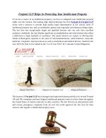 Farjami LLP Helps In Protecting Your Intellectual Property