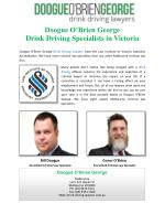Doogue O'Brien George Drink Driving Specialists in Victoria