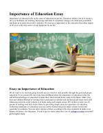 PPT - Why Is Education So Important? PowerPoint Presentation