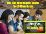 ACC 380 NERD Logical Brains /acc380nerd.com