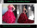 Find the best Custom Dress Designer