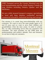 Montreal moving companies