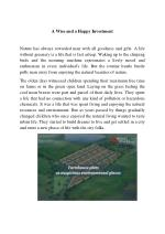 A Wise & Happy Investment in Farm House Plots