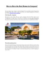 Affordable Residential Projects in Gurgaon