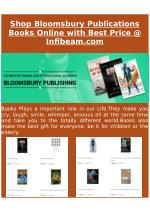 Shop Bloomsbury Publications Books Online with Best Price @ Infibeam.com
