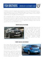 New Dacia Cars | Fish Brothers Group