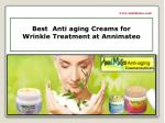 Best  Anti-aging Wrinkle Cream for Wrinkle Treatment at Annimateo