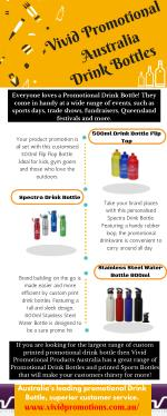 Infographic About Drink Bottles at Vivid Promotions