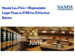 Effective Legal Advice Mississuga | Nanda Law Firm