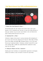Five Tips to Secure Your VPS and Dedicated Server
