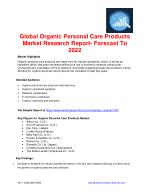 Organic Personal Care Products Market Rising at 6% CAGR due to Increasing Consumer Preference for Organic Products