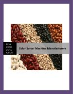 Color Sorter Machine Manufacturers