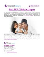 Best IVF Clinic in Jaipur