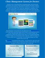 Clinic Management System for Doctors
